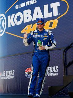 See the best photos from Las Vegas Sprint Race, Nascar Sprint Cup, Nascar Racing, Race Day, Basketball Teams, Football Team, Dale Earnhardt Jr, Las Vegas, Cool Photos