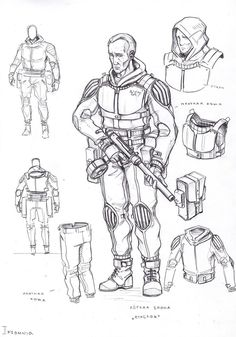 light armor 15 by TugoDoomER Armor Concept, Concept Art, Character Concept, Character Design, Drawing Superheroes, Steampunk Weapons, Sword Design, Future Soldier, Pulp