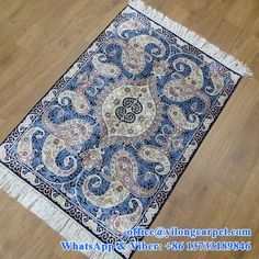 2' x 3' hand knotted silk rugs made by Yilong Carpet Factory. ------Yilong Carpet is the professional and leading handmade carpet manufacturer in China. We can supply: Turkish knots silk carpet; hand knotted Persian carpets; hand weave wool and silk mixed carpet; Aubusson carpet; Aubusson tapestry; etc.