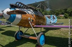 Albatros,a wooden monococque figther powered by inline six Austro Daimler, 200 HP. Germany, WW1.