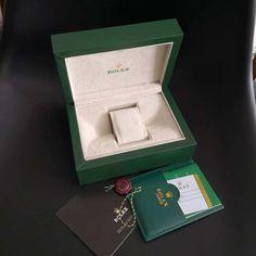 Box / Caixa do Relógio Rolex® - Caixa Verde de Luxo + Manual + Certificado – 🔥 Prometheus Premium® 🇧🇷 Manual, Green Box, Diesel Watch, Woman Watches, Rolex Watches, Certificate, Tote Bags, Luxury