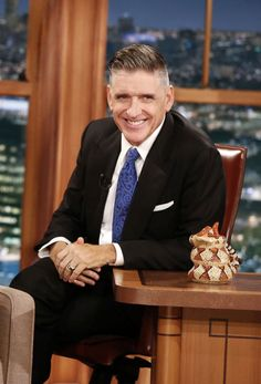 "In this Dec. 2014 photo released by CBS, host Craig Ferguson appears on the set of ""The Late Lat. - The Associated Press Craig Ferguson, The Late Late Show, Tv Times, Celebs, Celebrities, Man Humor, How To Run Longer, Comedians, 10 Years"
