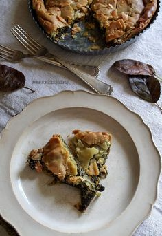 La #torta d'erbe di mia nonna #ricetta e #video su http://www.soniapaladini.it/2016/10/la-torta-derbe-di-mia-nonna.html #food #homemade #Italianfood #foodporn