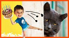 Bad baby вредные детки готовят торт для кошки 😸  Кидаются едой.   Сериал... Cats, Youtube, Animals, Fictional Characters, Gatos, Animales, Animaux, Animal, Cat