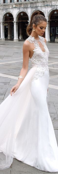 Julie Vino Spring 2018 Wedding Dress -Venezia Bridal Collection #WeddingDress #WeddingDresses #BridalGown #Bride #Wedding #BridalDress #BridalCollection #BridalFashion