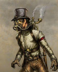 Steampunk by John U. Abrahamson