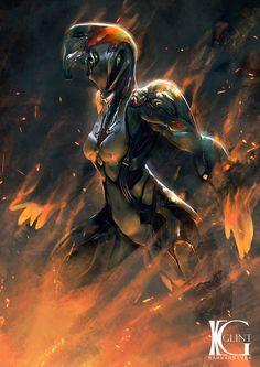 Warframe - Fiery Blaze by Kevin-Glint on DeviantArt