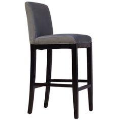 Nydelig Krogh Design diningsofa med høy rygg i grått ...