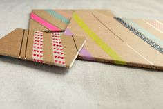 DIY this personalized notebook! Photos by designlovefest