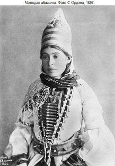 Abazin, Russian Empire XIX c