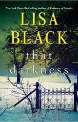 Lisa Black THAT DARKNESS cover