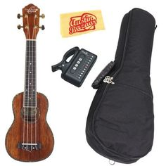 Oscar Schmidt by Washburn OU5S Limited Edition Soprano Ukulele Bundle with Gig Bag, Tuner, and Polishing Cloth by Oscar Schmidt. $149.95. Bundle includes Oscar Schmidt OU5S Limited Edition Soprano Ukulele, Gig Bag, Tuner, and Polishing Cloth.The limited-edition series of Oscar Schmidt OU5 ukuleles boasts handcrafted quality at an affordable price. Available in soprano-, tenor-, baritone-, and concert-sized models, the limited-edition OU5 series features Hawaiian Koa...