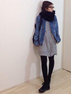 mayumiさんの「【CLASSY. 12月号掲載】ビーバーチェスターコート(TONAL|トーナル)」を使ったコーディネート