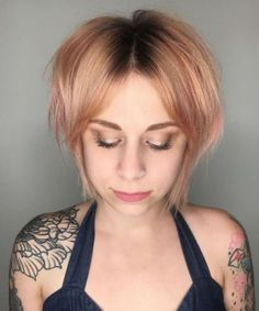 23 Modern Shag Haircuts To Try In 2018 for size 1000 X 1100 Short Shaggy Bob Hairstyles - Much like fashion, Man's hairstyles have a tendency to go in Shaggy Bob Hairstyles, Shaggy Bob Haircut, Modern Shag Haircut, Chic Hairstyles, Short Hairstyles For Women, Short Haircut, Bob Haircuts, Woman Hairstyles, Zottiger Bob
