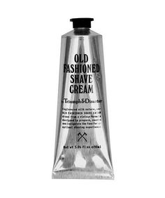 Triump & Disaster Old Fashioned Shave Cream Tube, For All Skin Types - The Emporium Barber