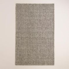 One of my favorite discoveries at WorldMarket.com: Light Gray Emilie Flatweave Sweater Wool Area Rug
