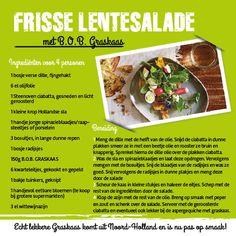 Lente salade met Graskaas van Kaashuis Tromp
