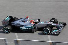 Michael Schumacher, Mercedes, Sepang, 2012