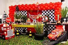 Resultado de imagen para decoracao festa cars