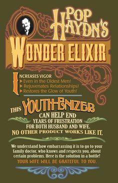 Pop Haydn's Wonder Elixir