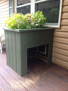 fd3cd819bc6 Front Porch Renovation. Doggy DoorsDiy ...