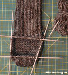 Slitesterke herresokker i ull (med gratis oppskrift) - Lilly is Love Crochet Pattern, Knitting Patterns, Knit Crochet, Chain Stitch, Popular Pins, Lana, Free, Blog, Accessories