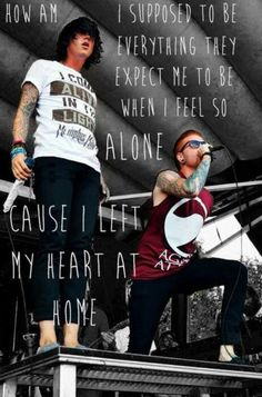 Miles Away - Memphis May Fire♥ love these lyrics because this song always suits perfectly..