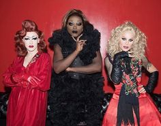 Sasha Velour x Bob The Drag Queen x Katya