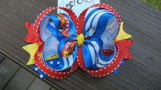 Disney Cars Lightning McQueen Hairbow Hair Bow on Etsy, $6.99