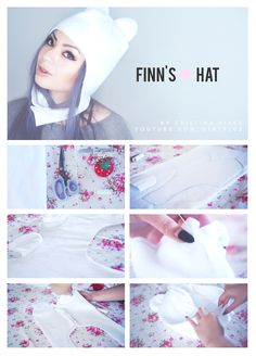 DIY Finn's Hat from Adventure Time!