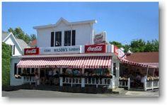 Wilson's Restaurant - the BEST ice cream I've ever had -Door County, WISCO!