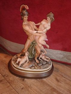The Rape of the Sabine women by Bruno Merli, Circa 1974. The Fanta can shows the size of this impressive Capodimonte. a rare and hard to find piece of capodimonte porcelain. | eBay!
