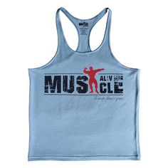 Mens Bodybuilding Muscle Stringer Tank Top