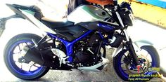 #yamaha #mt25 #nakedbike #streetfighter #blue Going to launch soon ^^