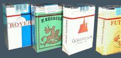"""Maman nous achetait des cigarettes en chocolat. Mais oui, ma sœur et moi adorions cela : on fumait """"comme Papa""""!"""