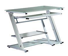 Sixbros mesa de ordenador blanco s 104 2081 for Mesa ordenador amazon