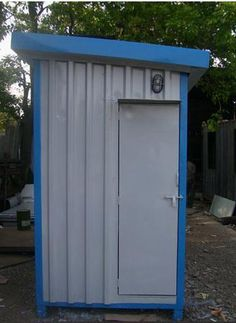 Pre-Fabricated Portable Toilets at Best Price in Taloja, Maharashtra Portable Toilet, Toilets, Shed, Outdoor Structures, Building, Outdoor Decor, Home, Bath, Bathrooms