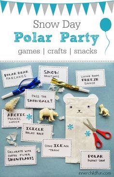 Polar Party for Snow Day Fun