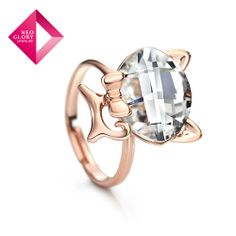 Aliexpress.com : Buy Neoglory MADE WITH SWAROVSKI ELEMENTS Rhinstone Party Rings for Women Romantic Fashion Jewelry New Arrival 2014 from Re...