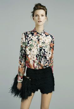 Zara november lookbook.........(UMMMMMMMMM I wore this in August... does that mean I'm supposed to put it back on now?)