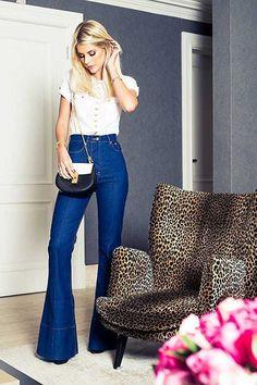 30 DICAS de Como Usar Calça Flare Feminina: Moda Feminina