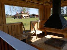 Camping Djupdalen - Värmland Sverige Gazebo, Deck, Camping, Outdoor Structures, Outdoor Decor, Home Decor, Alternative, Campsite, Kiosk