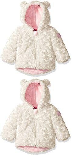 abb06f8cc Kids Girls Winter Warm Faux Fur Fleece 3D Cartoon Hooded Coat Thick ...