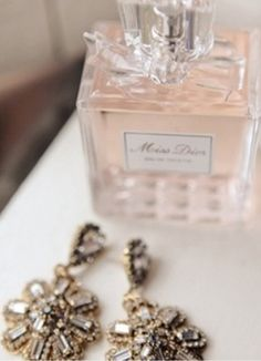 """Give bride perfume bottle morning of the wedding with a note """"wear this all day so whenever you smell it you will think back to this perfect day and always remember the way you felt""""... Etc"""