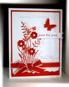 Stampin' Up Handmade Just for You card