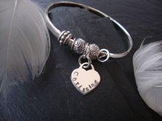 Personalised Sterling Silver Bracelet