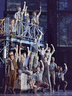 Just saw the touring production of Newsies the Musical last night. It was phenomenal!!! I highly recommend it!
