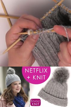 knit hat Knit a Gilmore Girls Hat inspired by Lorelais Rib Stitch Knitted Cap! I hope you are excited to knit up this Gilmore Girls inspired knit hat. I had so much fun making it and I think you are going to have a blast mastering this hat. Knitted Hats Kids, Baby Hats Knitting, Baby Knitting Patterns, Crochet Hats, Diy Knitting Cap, Knitted Bags, Knitting Socks, Crochet Ideas, Knit Crochet