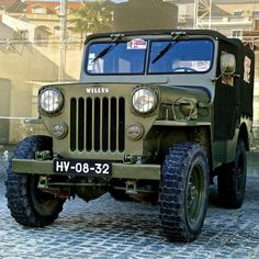 Jeep Willys | Belem, Lisbon, Portugal in Wikipedia The Willy… | Flickr