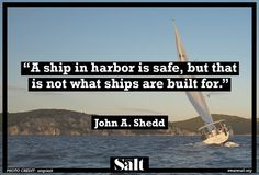 Quote from John A. Shedd